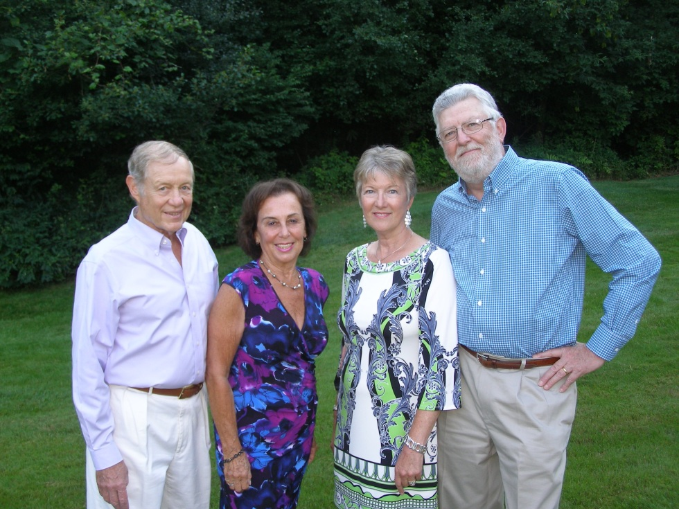 CNS Co-Chairs, Rick & Linda Roesch and Cyn & Ray Barrette